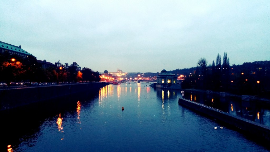 Praha through the filter